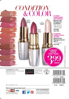 Avon Ultra Color Absolute Lipstick - helps keep lips looking their ...