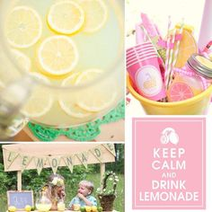 9 Items to Inspire Your Kids' Summer Lemonade Stand Kids Lemonade Stands, Mother Day Wishes, Party Themes, Party Ideas, Fun Ideas, Craft Ideas, Birthday Parties, Kid Parties, Baby Birthday