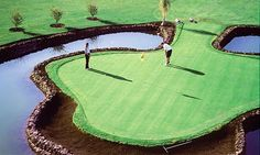 Amarilla Golf Hole 9 of Pitch and putt