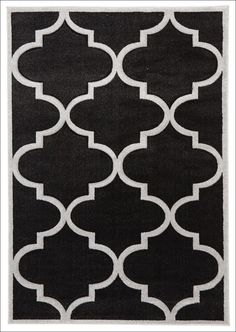 Large Modern Trellis Rug Charcoal from Rugs Of Beauty. This beautiful patterned, low maintenance, dense pile rug would make a classy addition to any living space.  https://www.rugsofbeauty.com.au/collections/trellis-rugs/products/large-modern-trellis-rug-charcoal?variant=19629609153