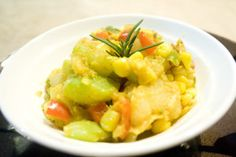 Chayote a traditional Costa Rica meal  http://www.villascostarica.com/blog/2013/12/traditional-costa-rica-recipes/