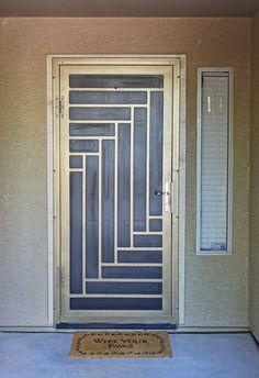 Balcony Grill Design, House Fence Design, Security Door Design, Stairs Design Interior, Window Design, Main Entrance Door Design, Wooden Door Design, Front Porch Decorating, Door Gate Design