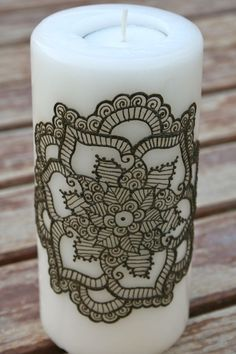 henna candle DIY febuary 16th