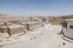 Tamerezet village on desert in Tunisia , Africa