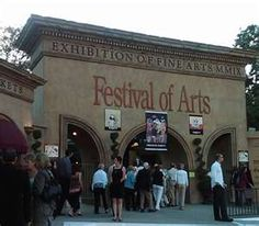 Festival of Arts & Pageant of the Masters, Laguna Beach, California. Amazing live art performance as well as a fantastic art show.
