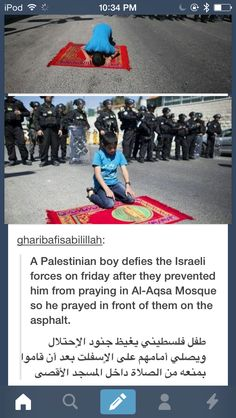 Mashallah oh brave one, may Allah keep you safe
