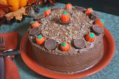 Chocolate Peanut Butter Cake (With Gluten Free Version)