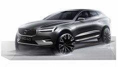 2017-Volvo XC60 official sketch