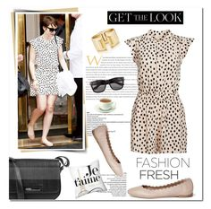 """""""get the look : lily collins"""" by limass ❤ liked on Polyvore featuring Kenneth Cole Reaction, Chloé, Vero Moda and Tiffany & Co."""