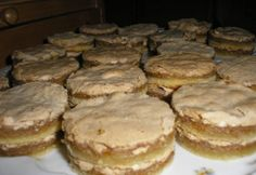 Hungarian Desserts, Hungarian Cake, Hungarian Recipes, Sweet And Salty, Cake Cookies, Bakery, Dessert Recipes, Food And Drink, Cooking Recipes