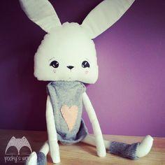 #handmade #bunny #sew #pooky