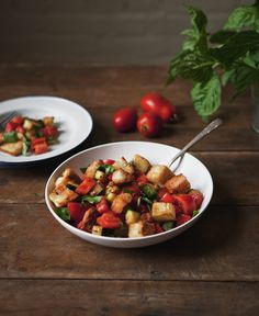 Post image for End of Summer Panzanella