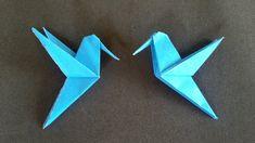 Origami: Beija Flor Simples