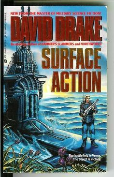 36375-X DAVID DRAKE Surface Action (1990; 1st ACE printing).#