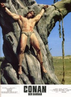 6/30/14  4:24p   ''Conan The Barbarian''  Tortured Nailed and Crucified   ''And the Witch Shall Be Born''  ''The Tree of the Dead''  by Robert E. Howard  1982  emma-frost-costume-jennife.blogspot.com
