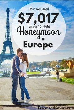 A lot of people look forward to their wedding day but any good miles and points blogger will tell you that it's all about the honeymoon! Here's how we saved on our #europe #vacation #honeymoon #wedding http://www.richmondsavers.com/how-we-saved-7017-on-our-15-night-honeymoon-in-europe-with-miles-and-points/