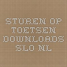 sturen op toetsen  downloads.slo.nl