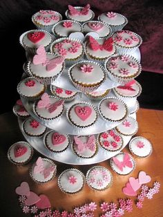 Pink Wedding Cupcakes Ideas