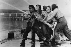 Women firefighters, Pearl Harbor