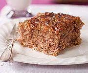 How to Make Oatmeal Cake - This recipe is the closest to the version I have made. But it does have a couple of differences. I add an extra 1/2 cup of white sugar (for a total of two cups - 1 cup brown, and 1 cup white) and I also add a full teaspoon of baking powder in addition to the soda.