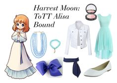 """""""Alisa(Harvest Moon) Bound"""" by athena-parthenos ❤ liked on Polyvore featuring art"""