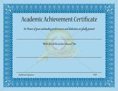 Education achievement in resume