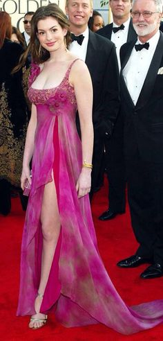 Gorgeous gown on the red carpet designer wear beautiful