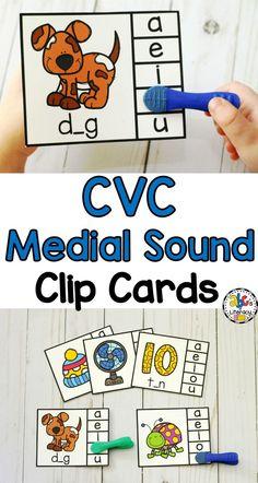 These CVC Medial Sou