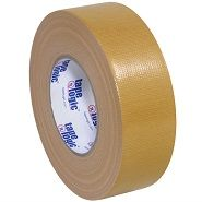 2 Inch Wide Roll of Beige Colored Duct Tape. 2 Inch Wide Roll of Light Brown Duct Tape.