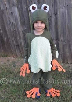 DIY Animal Costume : DIY frog costume!  :  DIY Halloween