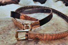 Gotland viking lamellar belt, made by Einarr & Ingvar