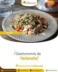 El Lap Mu es un plato a base de carne de cerdo, picante, llena de sabor, que encontrarás en tu Experiencia Sibarita en Tailandia.