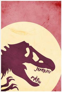 For Cody: Movie poster vintage poster retro print film poster Jurassic Park 11x17 print. $19.00, via Etsy.