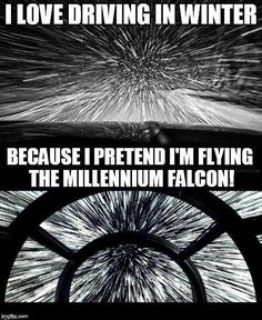 How I felt driving home last night after seeing The Last Jedi.
