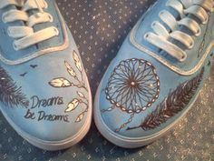 Jack Johnson Dream Catcher Shoes by custommadeshoes on Etsy, $40.00