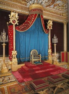 Napoleon's throne room, Fountainebleau
