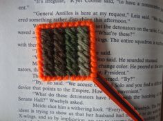 Camouflage Ribbon Bookmark by MastersCreations on Etsy, $4.00
