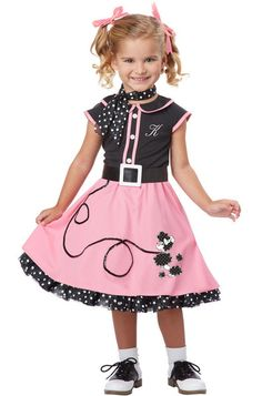 50's Poodle Cutie Toddler Costume – State Fair Seasons