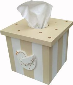 Bird Tissue Box Cover and decor at Jack and Jill Boutique