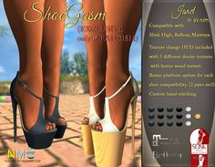 Denim Heels Style Pack Faddish Fair Release