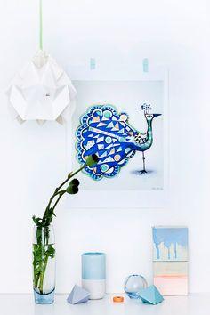 Studio Snowpuppe, l'art des luminaires Origami ! - FrenchyFancy