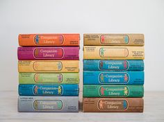 2 stories in one book: vintage collection of children's classics - 24 titles. 75.00, via Etsy. (epochco)