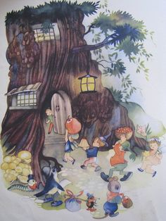 Procession to the hollow tree by Heart felt, via Flickr