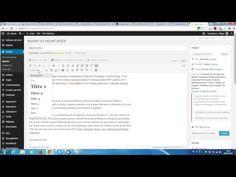 Paramétrer les sous-titres ou balises hn sous WordPress