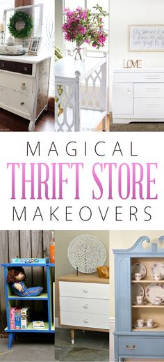 Magical Thrift Store Makeovers - The Cottage Market