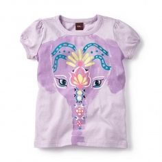 Painted Elephant Graphic Tee | Tea Collection