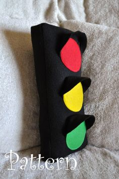 Traffic light pillow