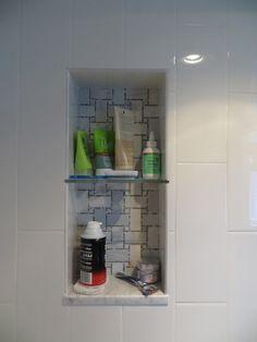 Granite shelves