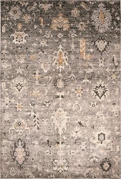 d3e34dfa Rugs USA Tan Celeste Shrouded Garden rug - Transitional Rectangle 8' x 10'