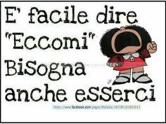 Mafalda: esserci!